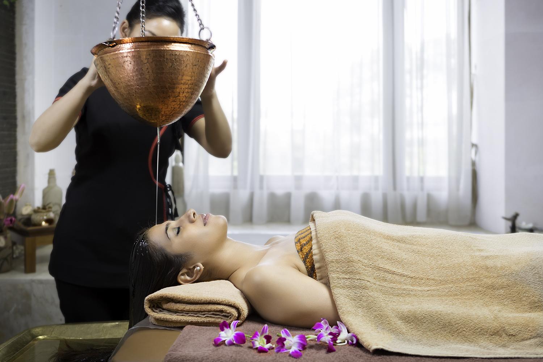 Head Oil Massage